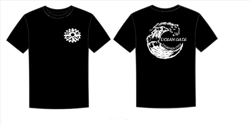 OCEAN  GATE  Tシャツ完成❗❗❗